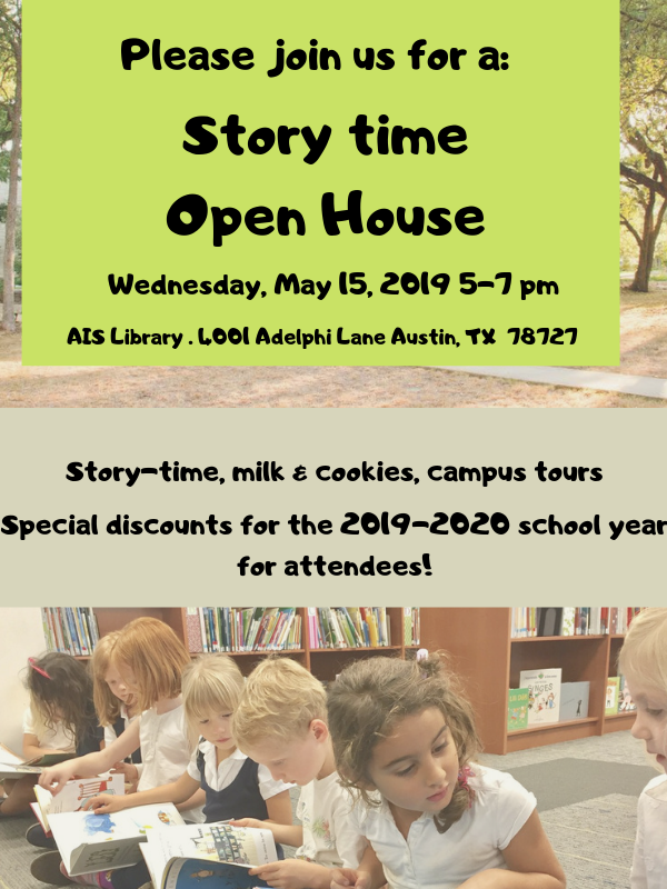 Story time Open House