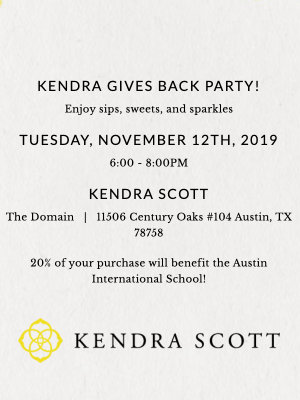 Spirit Night at Kendra Scott-Domain