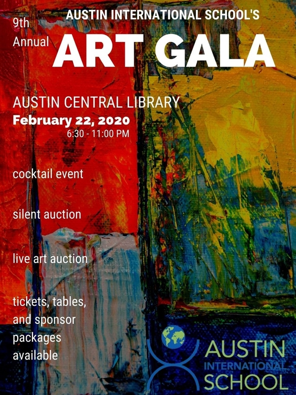 AIS 9th Annual Art Gala