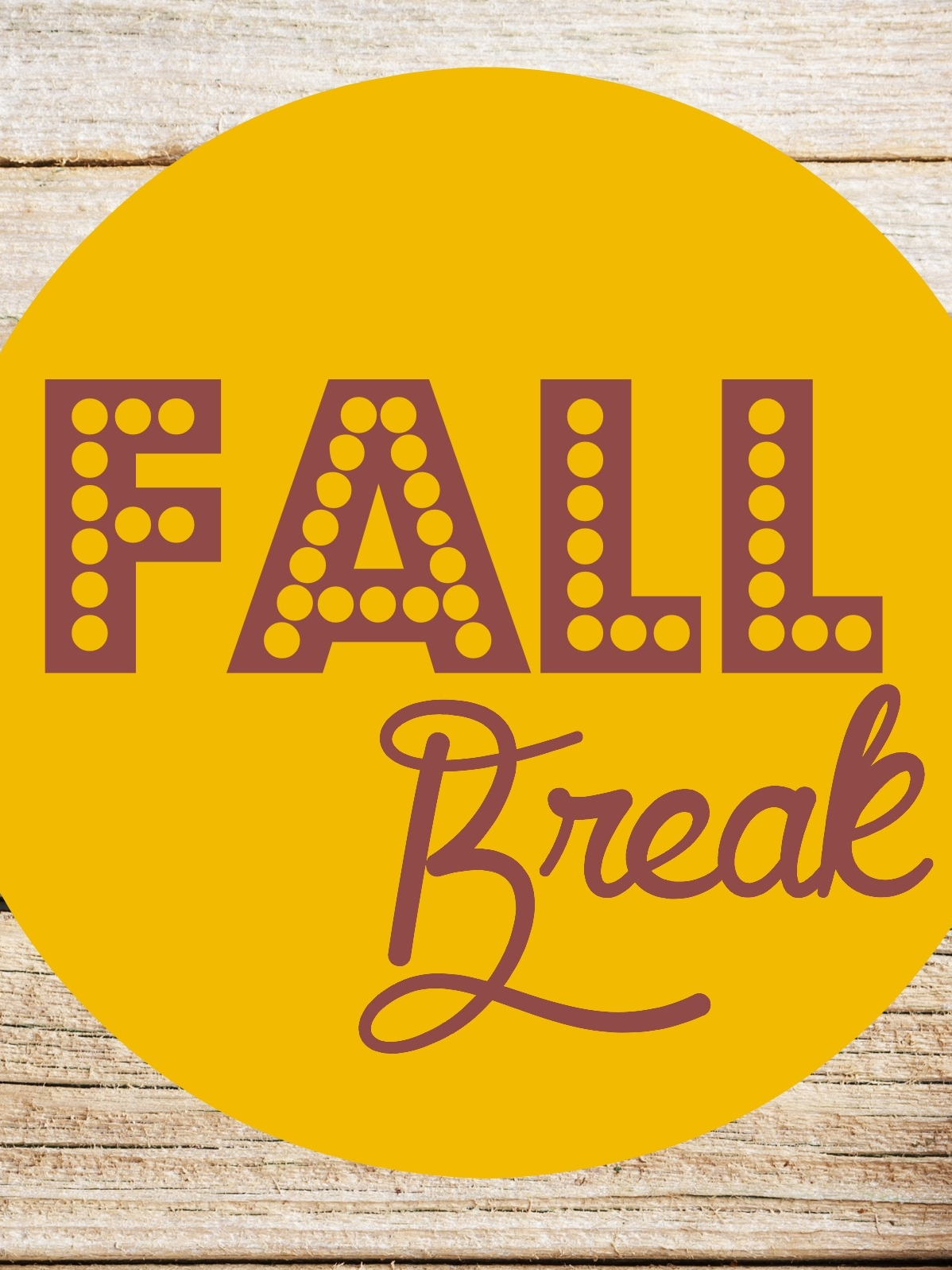 Fall Break-Fall Camp